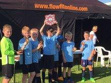 NPTFC Under 11s Jaguars beat Old Grammarians at the Wellingborough Tournament
