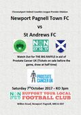 Non League Day - Swans vs St Andrews - 7/10/17 - Plus the BIG RAFFLE !!!!