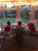 Christmas Hampers packed up & ready to go to the care home!
