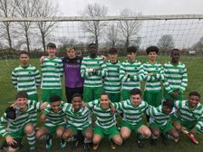 Newport Pagnell U16 Lions were a newly formed have a successful first season!
