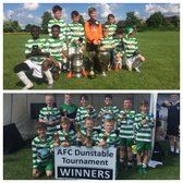 Dunstable & MK Wanderers Tournament Winners - NPTFC Under 11s & Under 9s...
