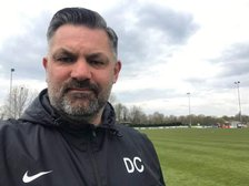 Newport Pagnell Town Reserves manager Darren Clarke on their 1-0 win against Raunds....