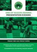 Players Awards Presentation Night - Friday 3rd May - 7:30pm