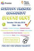 Newport Pagnell Community Sports Day at Willen Road