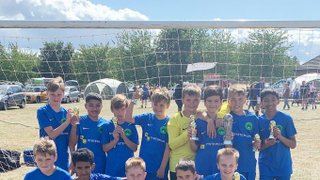 Well done to the NPTFC Under 12 Panthers on winning the Kempston Tournament today!