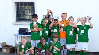 Congratulations to the NPTFC Under 9 Lions who won the Tattenhoe preseason plate today!