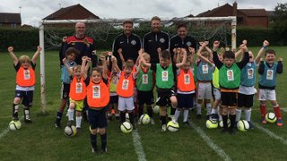 BINGHAM RANGERS - CLASS OF 2018/19 ENROLS FOR THEIR FIRST LESSON!