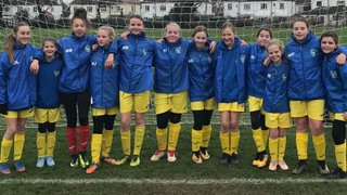 U12's Ladies Win League Title