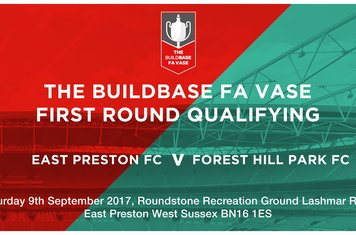 FA Vase qualifying tie...first in clubs history