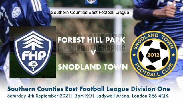 Vs Snodland Town Matchday programme