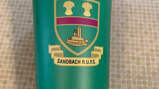 New club badged reusable cups