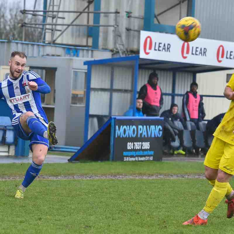 Nuneaton Borough 0 - Peterborough Sports 3 (Sat 15.02.20) - by Simon Kimber