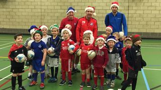 Under 4's, 5's and 6's Getting Festive