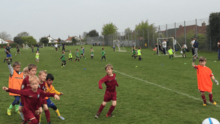 Under 6's First Friendly Match Sat 7th May 2016