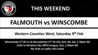 This Week its... @Falmouth_Eagles @sbobrfc @GordanoRFC @HornetsPress @DingsCrusaders @mbabas @chewvalleyrfc @exeter_rfc