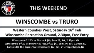 This Week it's... @TruroRFC @MartockRugby @Stotherts @RugbyTheDukes @SarriesBoys @DingsCrusaders @CHEPSTOWRFC @Mbabas @BridgwaterRugby