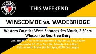 This Week it's... @camelsRFC @WiveliscombeRFC @TOR_RFC @NBRFC @AvonmouthOBRFC  @wellsrfc