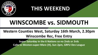 This Weeks it's... @SidmouthRFC (finally!) @wsmrfc @wellsrfc @OBsRugby @ERRFC