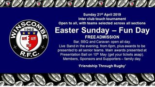 Family Fun Day - Easter Sunday