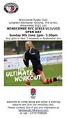 Girls Rugby Taster Session - Sunday 9th June