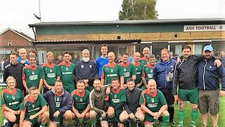 Two teams in the Memorial Match 14.10.2018