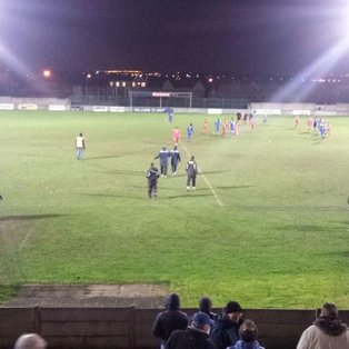 Harlow take the spoils in a ding dong battle at Mill Field