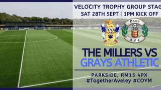 Next Up | Aveley v Grays Athletic