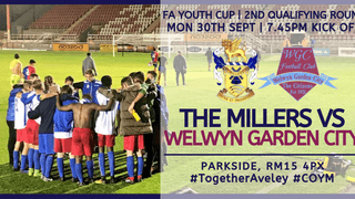 FA Youth Cup: Aveley v Welwyn Garden City