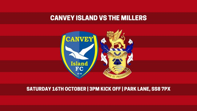 NEXT UP   Canvey Island vs The Millers