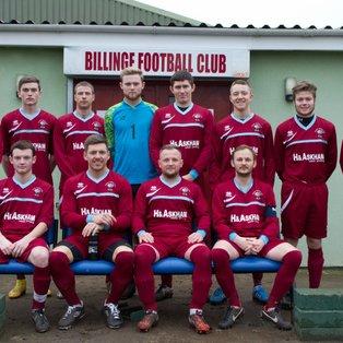 Billinge FC 6 v 0 Middlewich Town Reserves