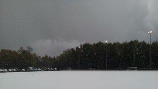 9 November 2013 Hail strikes timperley