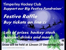 Support THC and grab your tickets online for our 2020 Festive Raffle!