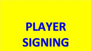 Breaking News - Player Signing
