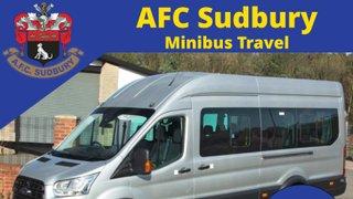 AFC Minibus to Hullbridge Sports - this Saturday