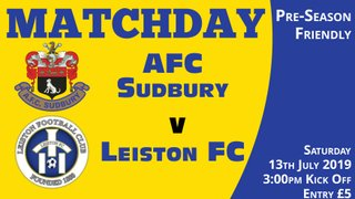 Match Preview V Leiston - Saturday