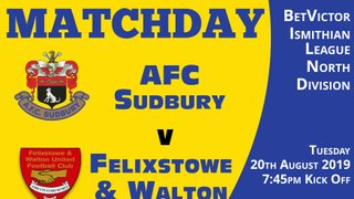 Tonight - Felixstowe & Walton 7:45pm