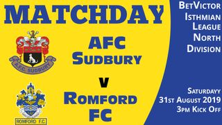 Match Preview - Romford FC - Saturday