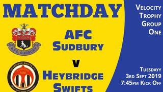 Match Day Programme - Tonight - Heybridge Swifts