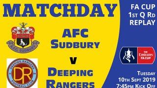 TONIGHT - FA Cup Replay - 7:45pm Kick Off