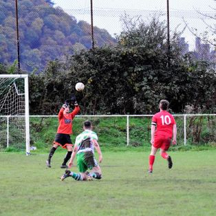 Denbigh scrape through thanks to an early Robbo brace