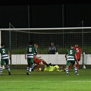 Town claim the three points in riveting game at Central Park