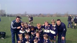 Warminster Festival 2011 Under 8's Champions