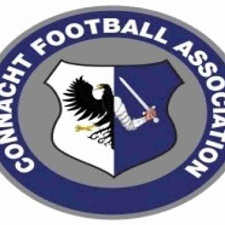 TP Brennan Connacht Cup 1st Round Draw