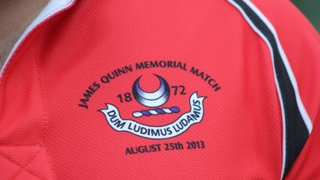James Quinn Memorial Match Official Pictures