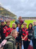 Heath U10s watch Quins in action