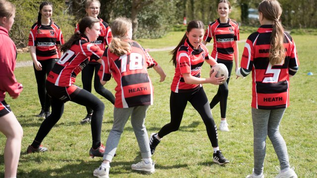 GIRLS ONLY TOUCH RUGBY EVERY SATURDAY