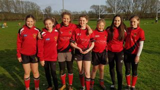Success for the girls teams at the Bletchley RFC Cross Sevens Festival