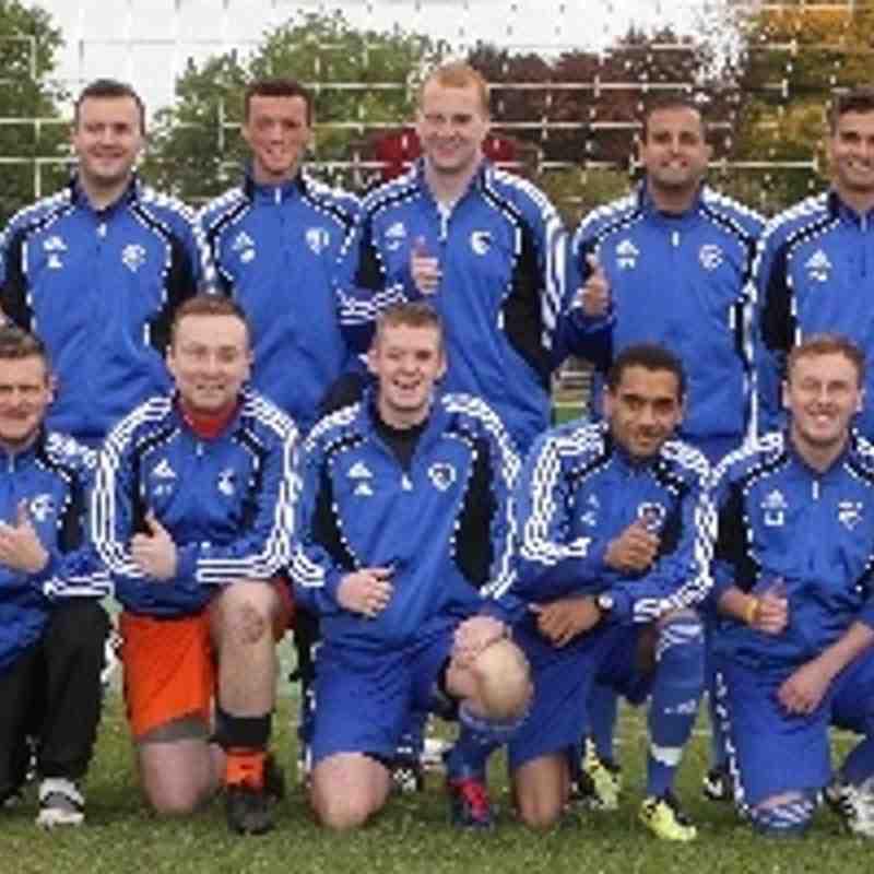 Rotherham Town v Thorpe Hesley FC, Oct 2013