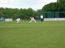 Wicken 1st XI V Geddington 2nd XI Match Report:
