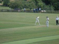 Rushton 1st XI V Geddington 1st XI Match Report: